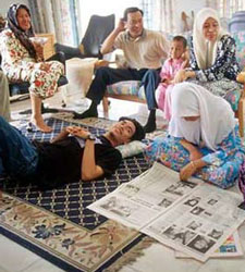 The strong bonds of family in Islam